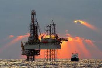 north sea offshore oil rig