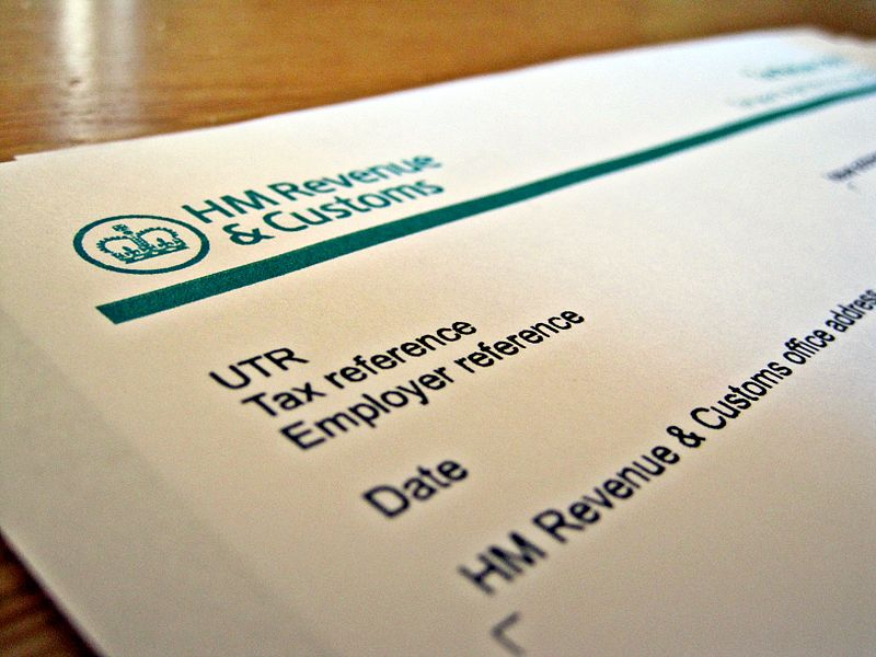 HMRC Self Assessment tax return