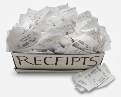 receipts for good tax returns