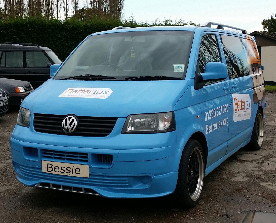Bessietax-vwt5-front