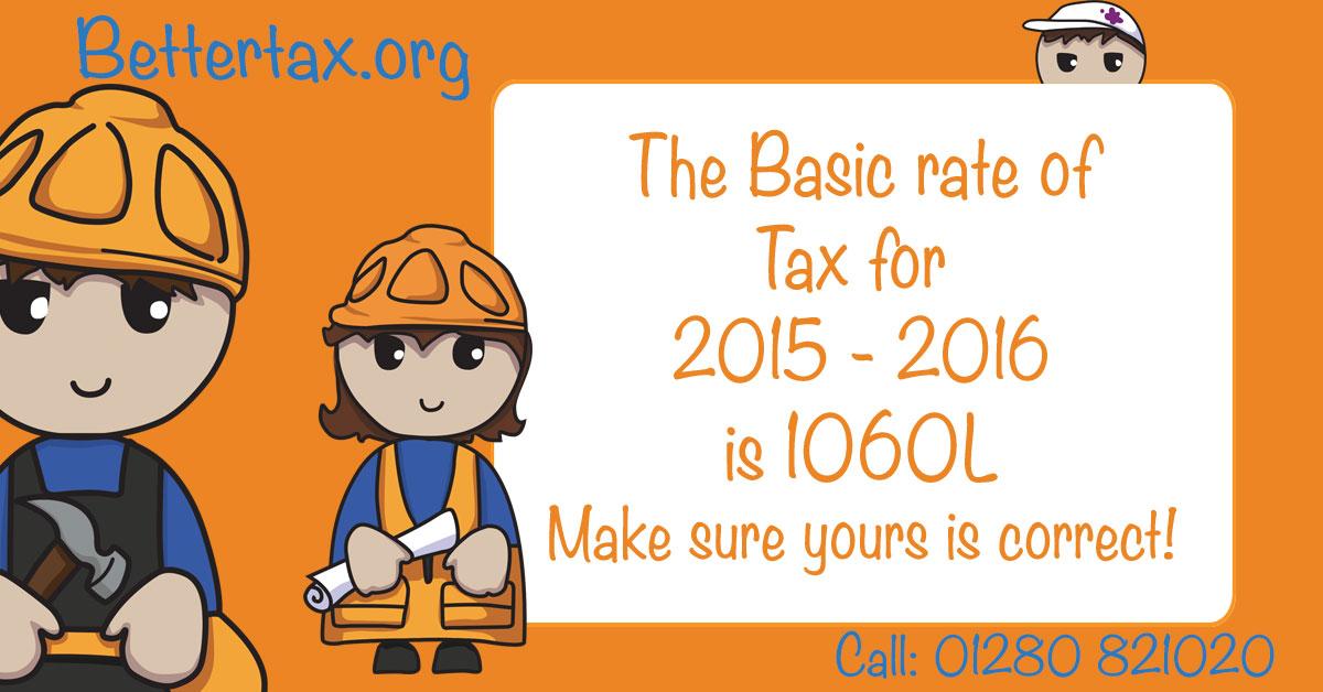 tax code 1060L 2015 - 2016